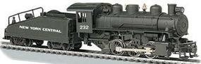 Bachmann USRA 0-6-0 Slope Tender New York Central #232 HO Scale Model Train Steam Locomotive #51605