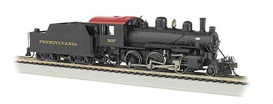 Bachmann 2-6-0 Pennsylvania #3237 -- HO Scale Model Train Steam Locomotive -- #51707