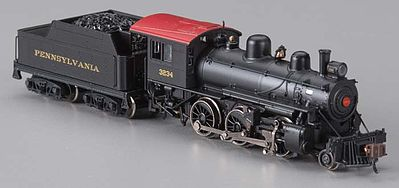 Bachmann Alco 2-6-0 DCC Pennsylvania #3234 -- N Scale Model Train Steam Locomotive -- #51751