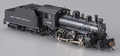 Bachmann Alco 2-6-0 Mogul w/DCC - New York Central #1906 -- N Scale Model Train Steam Locomotive -- #51752