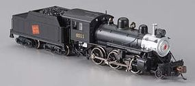 Bachmann Alco 2-6-0 Mogul w/DCC - Canadian National #6011 N Scale Model Train Steam Locomotive #51753
