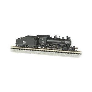 Bachmann Alco 2-6-0 DCC Boston & Maine #1363 -- N Scale Model Train Steam Locomotive -- #51756
