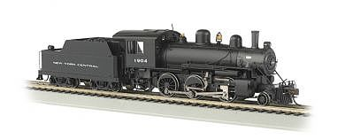 Bachmann Alco 2-6-0 DCC Sound New York Central #1904 -- HO Scale Model Train Steam Locomotive -- #51808