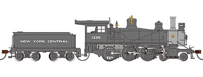 Bachmann NYC Baldwin 52'' Driver 4-6-0 DCC Ready #1238 -- HO Scale Model Train Steam Locomotive -- #52201