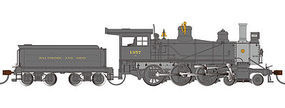 Bachmann Baldwin & Ohio 52 Driver 4-6-0 DCC Ready #1357 HO Scale Model Train Steam Locomotive #52202