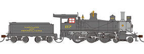 Bachmann Maryland and Penn 52 Driver 4-6-0 DCC Ready #27 HO Scale Model Train Steam Locomotive #52204