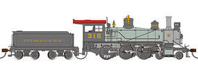 Bachmann Texas & Pacific 52 Driver 4-6-0 DCC Ready #316 HO Scale Model Train Steam Locomotive #52205