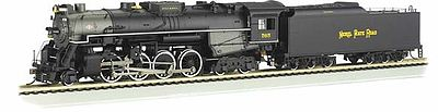 Bachmann Berkshire Nickel Plate Road 765 with Sound -- HO Scale Model Train Steam Locomotive -- #52401