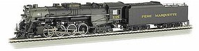 Bachmann Berkshire Pere Marquette 1225 with Sound HO Scale Model Train Steam Locomotive #52403