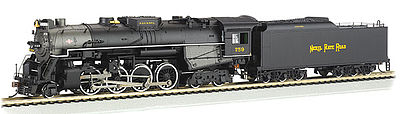 Bachmann 2-8-4 DCC with sound Nickel Plate Road #759 HO Scale Model Train Steam Locomotive #52404