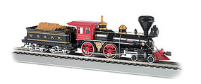 Bachmann 4-4-0 American DCC W&ARR The General w/Wood Load HO Scale Model Train Steam Locomotive #52705
