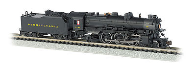 Bachmann K-4 4-6-2 with Sound Pennsylvania RR #1361 -- N Scale Model Train Diesel Locomotive -- #52851