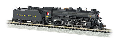 Bachmann K-4 4-6-2 with Sound Pennsylvania RR #5448 -- N Scale Model Train Diesel Locomotive -- #52853