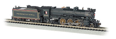 Bachmann K-4 4-6-2 with Sound Pennsylvania RR #5440 -- N Scale Model Train Diesel Locomotive -- #52854