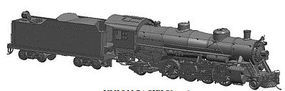 Bachmann USRA Light 2-8-2 DCC UP #2487 w/Med Tender HO Scale Model Train Steam Locomotive #54301