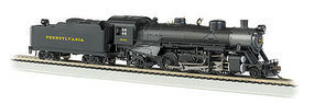 Bachmann USRA Light 2-8-2 DCC Pennsylvania RR #9630 HO Scale Model Train Steam Locomotive #54303