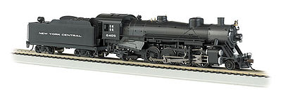 Bachmann USRA Light 2-8-2 DCC New York Central #6405 -- HO Scale Model Train Steam Locomotive -- #54304