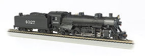 Bachmann USRA Light 2-8-2 Frisco #4027 w/Med Tender HO Scale Model Train Steam Locomotive #54405