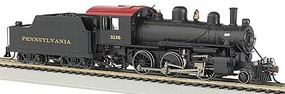 Bachmann Alco 2-6-0 w/Bluetooth E-Z App Pennsylvania #3236 HO Scale Model Train Steam Locomotive #57802