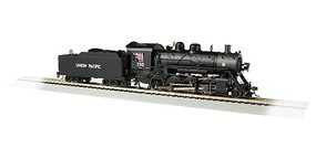 Bachmann HO 2-8-0 w/DCC & Sound Value, UP #730