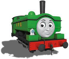 Bachmann Thomas & Friends Duck w/Moving Eyes HO Scale Thomas the Tank Electric Car #58810