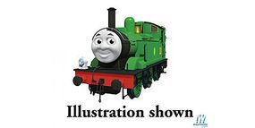Bachmann T&F Oliver w/Moving Eyes HO