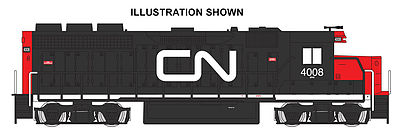 Bachmann GP-40 Canadian National 4008 with DCC HO Scale Model Train Diesel Locomotive #60307
