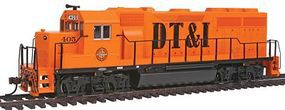 Bachmann GP40 Diesel Detroit, Toledo, & Ironton #405 HO Scale Model Train Diesel Locomotive #60310