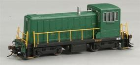 Bachmann GE 70-Tonner w/DCC - Painted, Unlettered (green) HO Scale Model Train Diesel Locomotive #60608