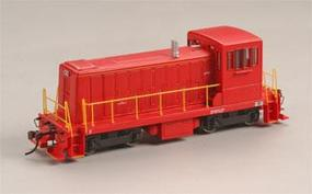 Bachmann GE 70-Tonner w/DCC - Painted, Unlettered (red) HO Scale Model Train Diesel Locomotive #60609