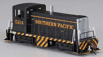 Bachmann GE 70T Southern Pacific #5114 (Black/Orange) -- HO Scale Model Train Diesel Locomotive -- #60613