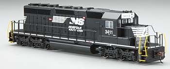 Bachmann SD40-2 Norfolk Southern #3411 (Thoroughbred) -- HO Scale Model Train Diesel Locomotive -- #60912