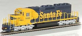Bachmann EMD SD40-2 Diesel Santa Fe #5020 HO Scale Model Train Diesel Locomotive #60913