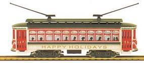 Bachmann Brill Trolley Christmas HO Scale Trolley and Hand Car #61040
