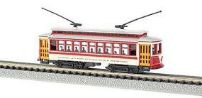 Bachmann Brill Trolley New York City Third Avenue Railway N Scale Trolley and Hand Car #61092