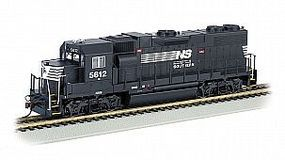 Bachmann GP38-2 NS #5612 (Thoroughbred) with DCC HO Scale Model Train Diesel Locomotive #61117