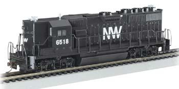 Bachmann Norfolk & Western EMD GP50 -- HO Scale Model Train Diesel Locomotive -- #61206