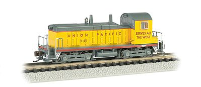 Bachmann EMD NW-2 Switcher w/DCC Union Pacific #1084 -- N Scale Model Train Diesel Locomotive -- #61651