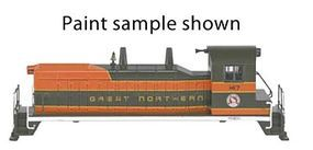 Bachmann EMD NW-2 Switcher w/DCC Great Northern #147 N Scale Model Train Diesel Locomotive #61652