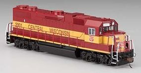 Bachmann GP38-2 Wisconsin Central #2001 HO Scale Model Train Diesel Locomotive #61712