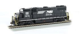 Bachmann GP38-2 Norfolk Southern #5616 HO Scale Model Train Diesel Locomotive #61716