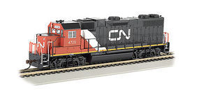 Bachmann GP38-2 Canadian National #4720 HO Scale Model Train Diesel Locomotive #61717