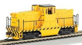 Bachmann GE 44T Switcher Painted Unlettered Yellow/Black HO Scale Model Train Diesel Locomotive #62201