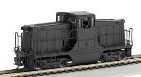 Bachmann GE 44T Switcher Painted Unlettered Yellow/Black HO Scale Model Train Diesel Locomotive #62202