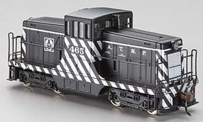 Bachmann 44T Switcher Santa Fe #465 HO Scale Model Train Diesel Locomotive #62211
