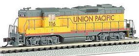 Bachmann GP7 Union Pacific 116 w/Dynamic Brakes N Scale Model Train Diesel Locomotive #62452