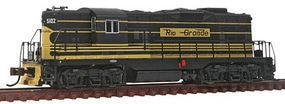 Bachmann EMD GP7 D&RGW #5102 N Scale Model Train Diesel Locomotive #62458