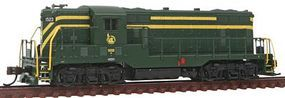 Bachmann EMD GP7 Diesel Jersey Central #1523 N Scale Model Train Diesel Locomotive #62459