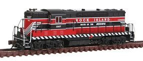 Bachmann EMD GP7 Diesel Rock Island #1227 N Scale Model Train Diesel Locomotive #62460