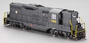Bachmann EMD GP9 PRR #7085 -- HO Scale Model Train Steam Locomotive -- #62808